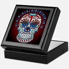 Decorative Mexican Skull Keepsake Box