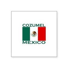 Cozumel, Mexico Rectangle Sticker