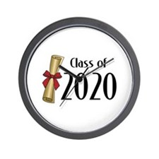 Class of 2020 Diploma Wall Clock