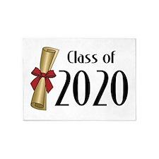 Class of 2020 Diploma 5'x7'Area Rug