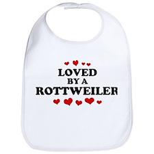 Loved: Rottweiler Bib