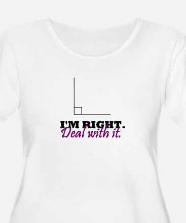 Im Right Plus Size T-Shirt