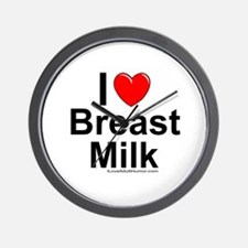 Breast Milk Wall Clock