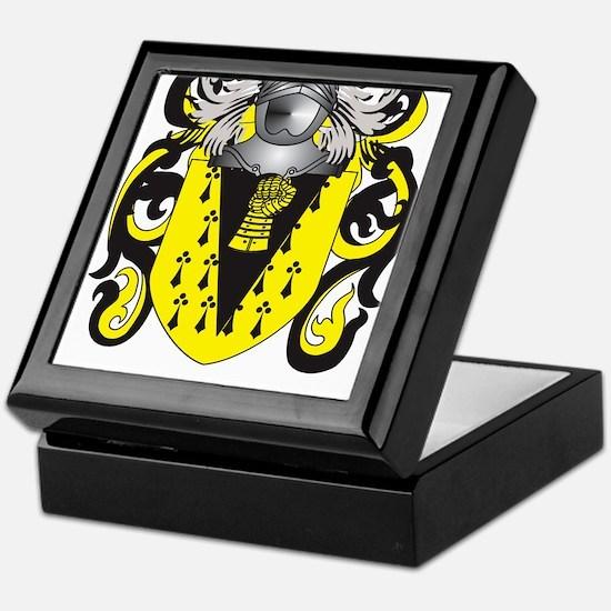 Hanggi Coat of Arms (Family Crest) Keepsake Box
