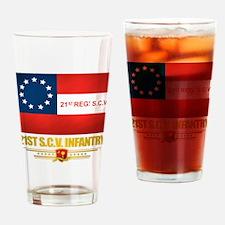21st SCV Infantry Drinking Glass