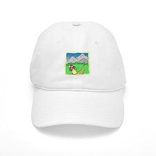 Toadstools Treasures Baseball Baseball Cap