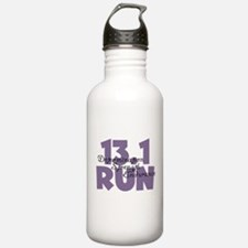 13.1 Run Purple Water Bottle
