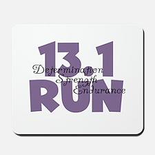 13.1 Run Purple Mousepad