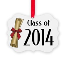 Class of 2014 Diploma Ornament