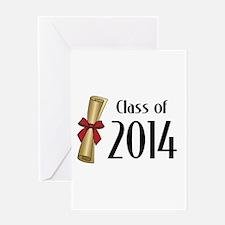 Class of 2014 Diploma Greeting Card