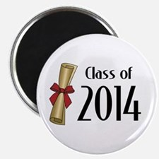 "Class of 2014 Diploma 2.25"" Magnet (10 pack)"