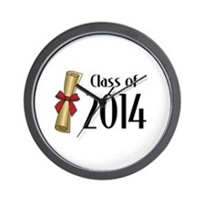 Class of 2014 Diploma Wall Clock