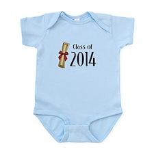 Class of 2014 Diploma Infant Bodysuit