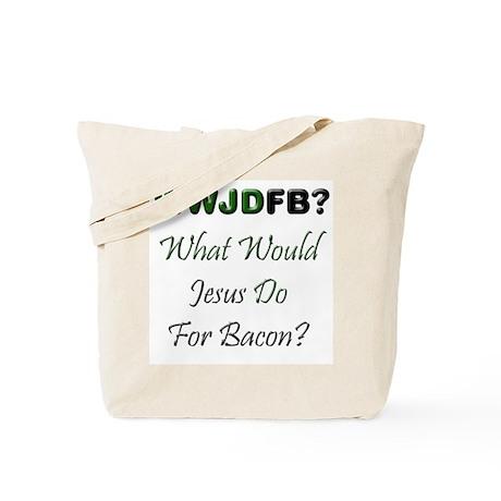 Jesus Bacon Tote Bag