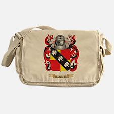 Hannan Coat of Arms (Family Crest) Messenger Bag