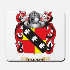 Hannan Coat of Arms (Family Crest) Mousepad