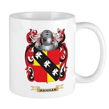 Hannan Coat of Arms (Family Crest) Small Mugs