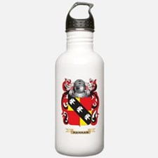 Hannan Coat of Arms (Family Crest) Water Bottle