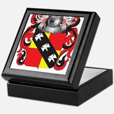 Hannan Coat of Arms (Family Crest) Keepsake Box