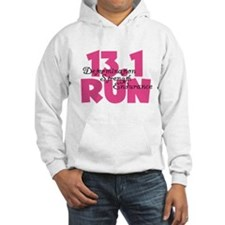 13.1 Run Pink Jumper Hoody