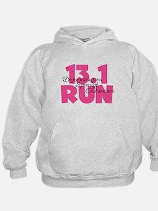 13.1 Run Pink Hoodie