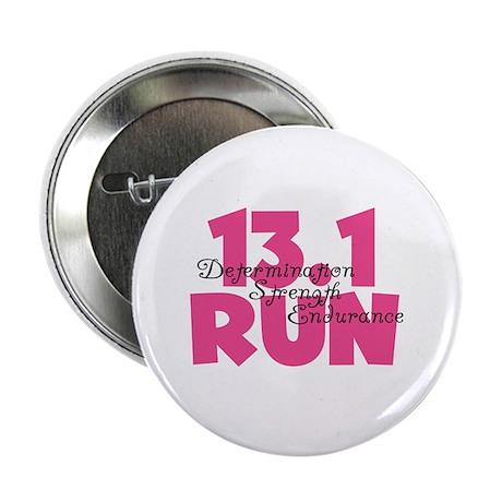 """13.1 Run Pink 2.25"""" Button"""