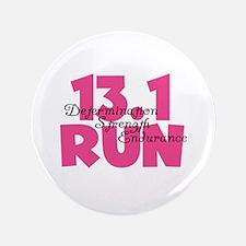 """13.1 Run Pink 3.5"""" Button"""