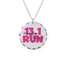 13.1 Run Pink Necklace