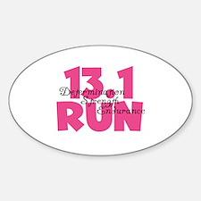 13.1 Run Pink Decal