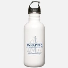 Annapolis Sailboat - Water Bottle