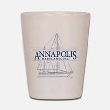 Annapolis Sailboat - Shot Glass