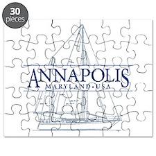 Annapolis Sailboat - Puzzle
