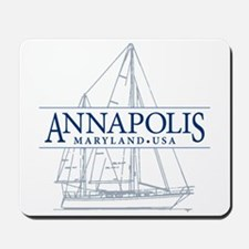 Annapolis Sailboat - Mousepad