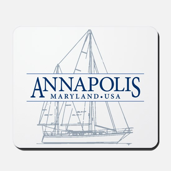 Annapolis Sailboat - Mousepad