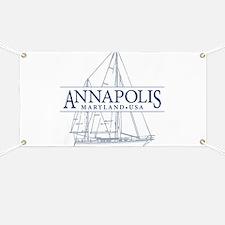 Annapolis Sailboat - Banner