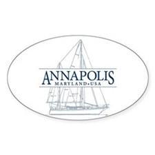 Annapolis Sailboat - Decal
