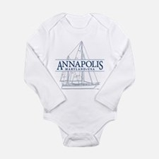 Annapolis Sailboat - Long Sleeve Infant Bodysuit