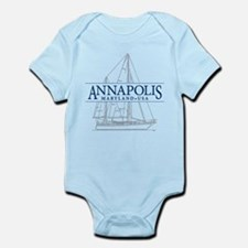 Annapolis Sailboat - Infant Bodysuit