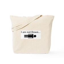 NotDownFront Tote Bag