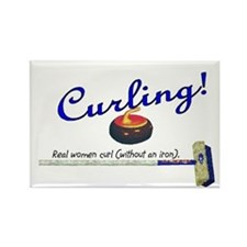 Curling! Real women curl (without an iron). Rectan