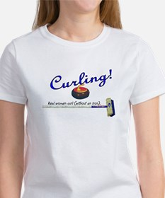 Curling! Real women curl (without an iron). Women'