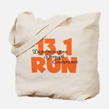 13.1 Run Orange Tote Bag