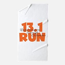 13.1 Run Orange Beach Towel
