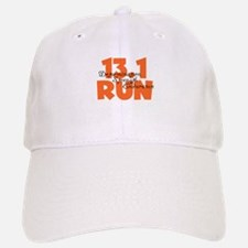 13.1 Run Orange Baseball Baseball Cap