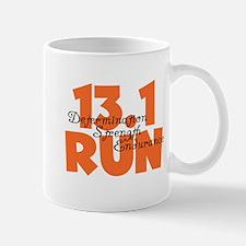 13.1 Run Orange Mug
