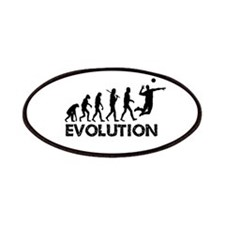 Evolution of a Volleyball Player Patches