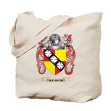 Hannon Coat of Arms (Family Crest) Tote Bag