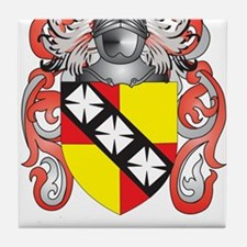 Hannon Coat of Arms (Family Crest) Tile Coaster