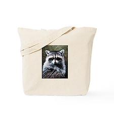 Raccoon Portrait Tote Bag