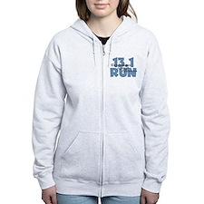 13.1 Run Blue Zip Hoodie